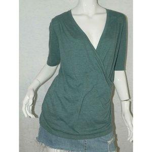 🍷 LucyT-Shirt Blue Short Sleeve Medium